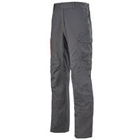 Pantalon de travail ergonomique multirisques gris charbon arminius