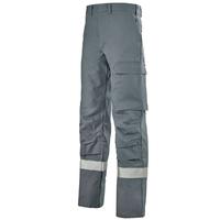 Pantalon de travail sécurité gris acier titan