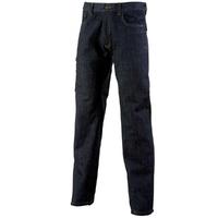Jean de travail  sans poches genoux bleu marine comox