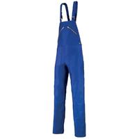 Salopette bleu de travail à bretelles A. Lafont