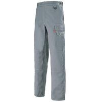 Pantalon de travail avec ceinture reglagble couleur gris