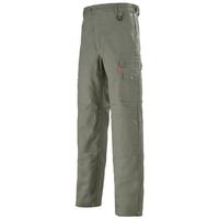 Pantalon de travail avec ceinture reglagble kaki A. Lafont