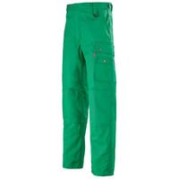 Pantalon de travail avec ceinture reglagble vert alpin