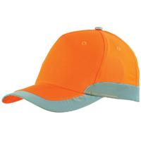 Casquette haute visibilté orange hivi romer A. Lafont