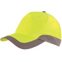 Casquette haute visibilité jaune hivi romer Lafont