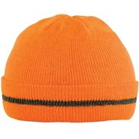 Bonnet haute visibilité orange hivi cornu