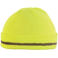 Bonnet haute visibilité jaune hivi cornu