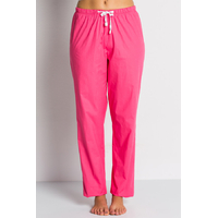 Pantalon médical rose fuchsia, coupe unisexe stretch