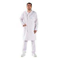 Blouse blanche médicale pour Homme