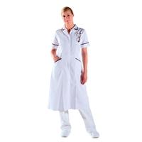 Blouse infirmière longue blanche