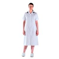 Blouse médicale blanche longue manches courtes