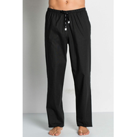 Pantalon médical noir, coupe unisexe stretch