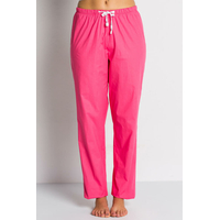 Pantalon médical rose fuchsia, coupe unisexe stretch