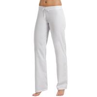 Pantalon blanc taille basse elastique