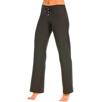 Pantalon noir taille basse elastique