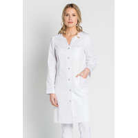 Blouse blanche pharmacienne