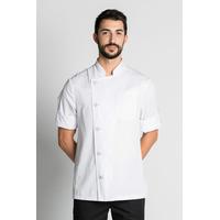 Veste de cuisine blanche manches retroussables Chef Look