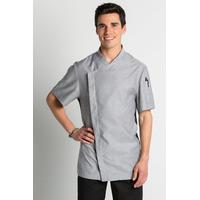 Veste grise de cuisine Cool Dry Chef Look