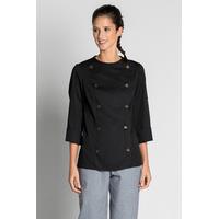 Veste noire de cuisine Dolce design