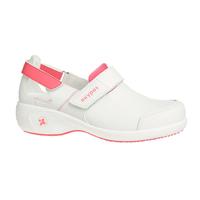 Chaussures blanche et rose de travail Salma ultraconfortable