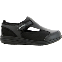 Chaussure de travail noire SRC antistatique en lycra Candy Oxypas