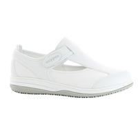 Chaussure médicale blanche SRC antistatique en lycra Candy Oxypas