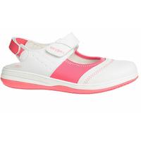 Sandale médicale blanche et rose SRC ESD Oxypas Melissa