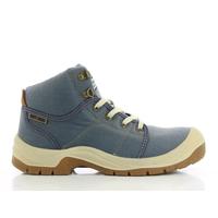 Chaussures de sécurité homme pas cher Safety Jogger Desert blue jeans