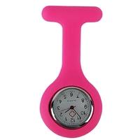 Mini montre infirmière rose fuchsia