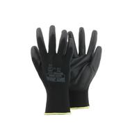 Gant de manutention et mécanique noir, dextérité exceptionnelle ( 12 paires )