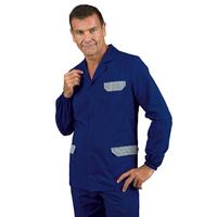 Tunique bleue de travail pour homme Isacco