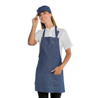 Tablier de cuisine femme 100% coton pas cher Isacco