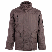 Parka de travail imperméable Oxford Marron North ways
