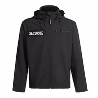 Veste agent de sécurité imperméable en softshell North ways