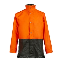 Veste de pluie forestiere orange Nemo North Ways