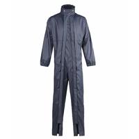 Combinaison de pluie imperméable double zip bleu marine Ork North Ways