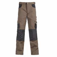 Pantalon de travail résistant Adam brun anthracite North Ways