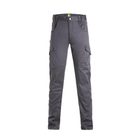 Pantalon de travail en polycoton stretch Epsilon Anthracite North ways