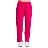Pantalon médical rose fuchsia coupe unisexe