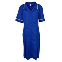 Blouse royal bleu manches courtes Caitlin