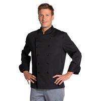 Veste de cuisine noire pas chère