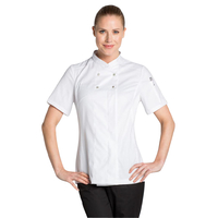 Veste cuisine blanche Lady Chef Look