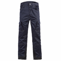 Pantalon de travail multipoches homme Antras marine North ways