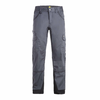 Pantalon de travail multipoches homme Antras gris North ways