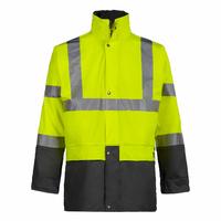 Veste de pluie haute visibilité jaune fluo Bandit North Ways