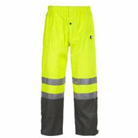 Pantalon de pluie haute visibilité jaune fluo Griffis North Ways