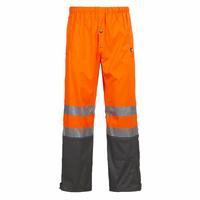Pantalon de pluie haute visibilité orange fluo Griffis North Ways