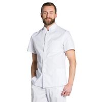 Tunique blanche blouse médicale pour Homme