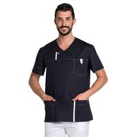 Blouse médicale Moderne Look pour Homme bleu marine