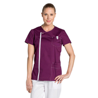 Tunique médicale Moderne Look couleur prune
